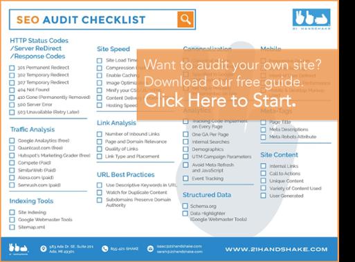 Download SEO Audit Checklist