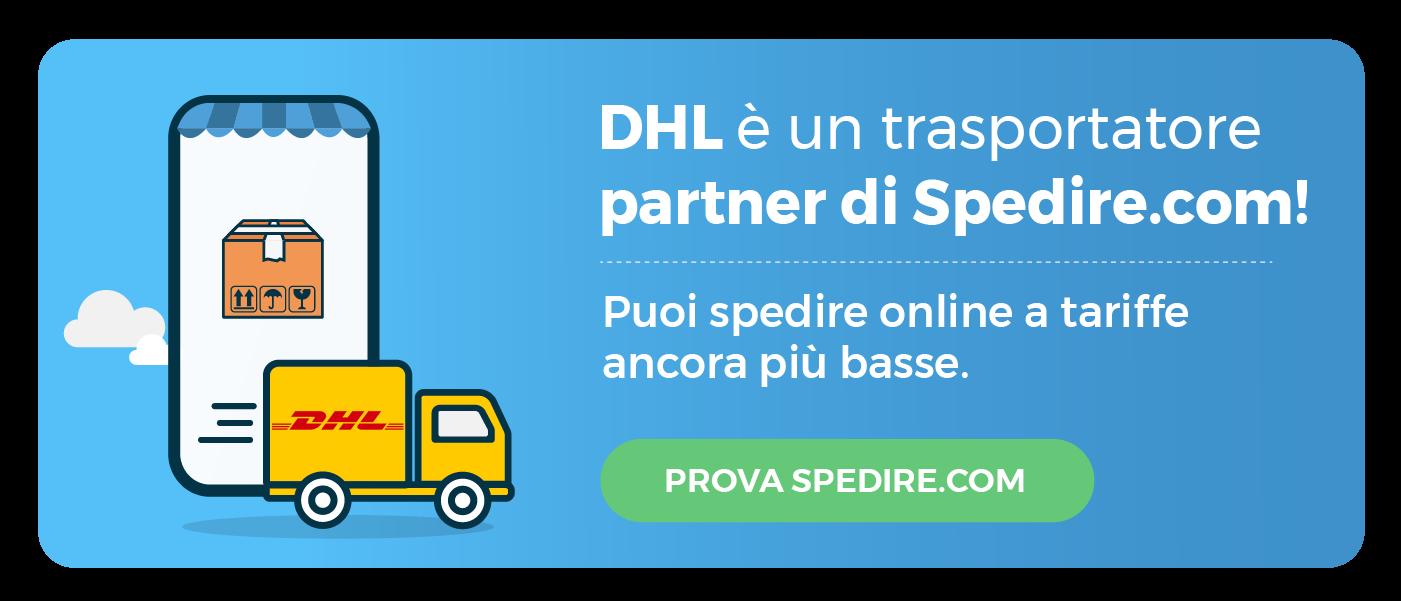 Spedire con DHL