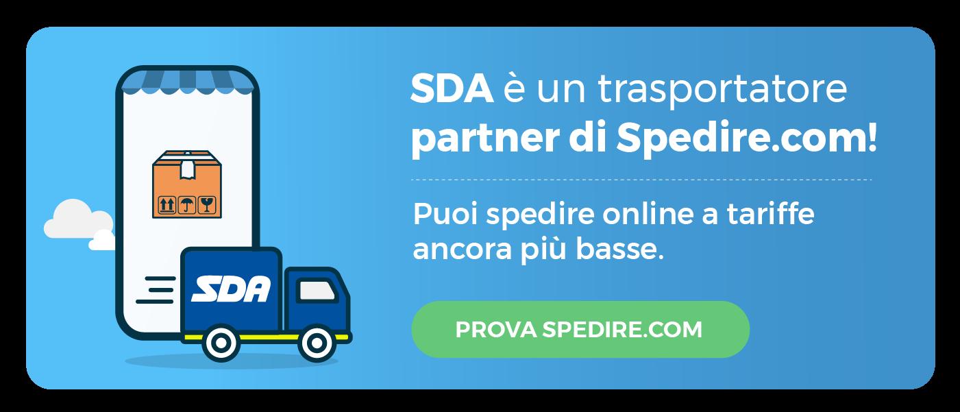 Spedire con SDA