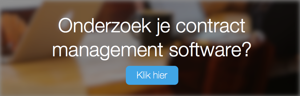 Onderzoek je Contract Management Software?