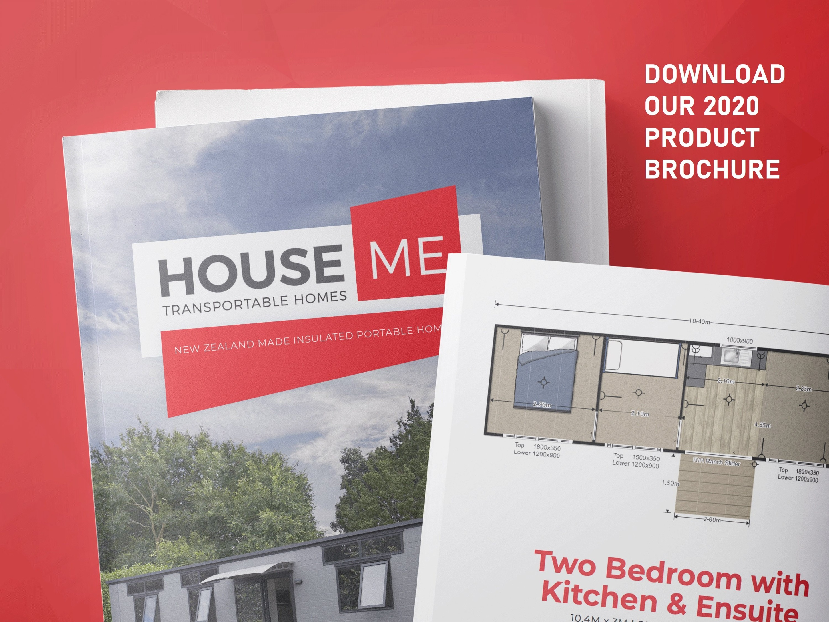 HouseMe transportable tiny homes brochure