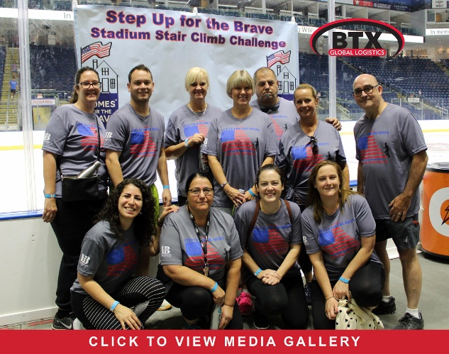 The BTX Team at Step Up for the Brave
