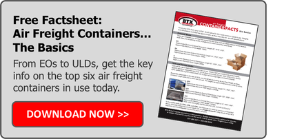 Free Factsheet on Air Freight Container Basics