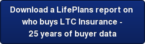 Download a LifePlans report on  who buys LTC Insurance - 25 years of buyer data