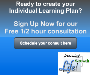 Sign up for FREE 1/2 hour consultation-Individual Learning Plan