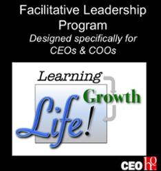Facilitative Leadership Program designed for CEOs & COOs.