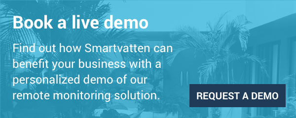 Book a live demo for Smartvatten