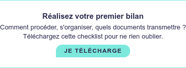 Réalisez votre premier bilan  Comment procéder, s'organiser, quels documents transmettre ?  Téléchargez cette checklist pour ne rien oublier. tÉLÉCHARGER