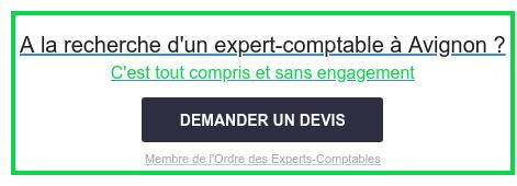 A la recherche d'un expert-comptable à Avignon ?  C'est tout compris et sans engagement  Membre de l'Ordre des Experts-Comptables DEMANDER UN DEVIS