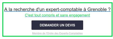 A la recherche d'un expert-comptable à Grenoble ?  C'est tout compris et sans engagement  Membre de l'Ordre des Experts-Comptables DEMANDER UN DEVIS