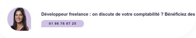 Développeur freelance : on discute de votre comptabilité ? Bénéficiez des  conseils gratuits de nos spécialistes ! 01 86 76 07 25