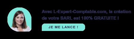 Avec L-Expert-comptable.com, la création de votre SARL est 100% GRATUITE ! Je me lance