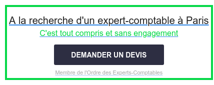 A la recherche d'un expert-comptable à Paris  C'est tout compris et sans engagement  Membre de l'Ordre des Experts-Comptables DEMANDER UN DEVIS