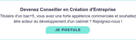 On recrute !  Devenez Conseiller en Création d'Entreprise, découvrez les offres partout en  France. JE POSTULE
