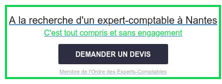 A la recherche d'un expert-comptable à Nantes  C'est tout compris et sans engagement  Membre de l'Ordre des Experts-Comptables DEMANDER UN DEVIS