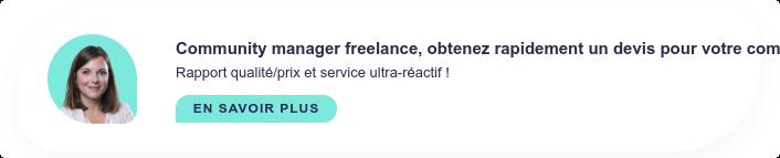 Community manager freelance, obtenez un devis rapidement par téléphone en  contactant nos experts de 9h à 19h ! 01 86 76 07 25