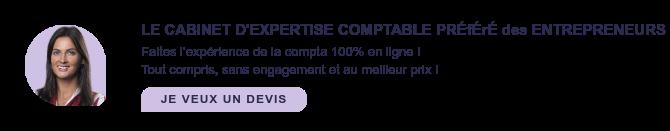 LE CABINET D'EXPERTISE COMPTABLE PRÉfÉrÉ des ENTREPRENEURS EN SARL  Faites l'expérience de la compta 100% en ligne !  Tout compris, sans engagement et au meilleur prix ! JE VEUX UN DEVIS