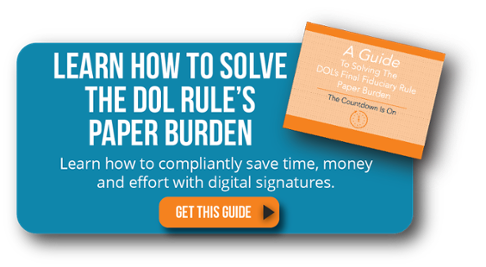 A Guide to Solving the DOL Rule Paper Burden