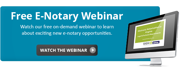 Watch the on-demand e-notary webinar