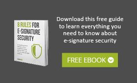 e-signature security ebook