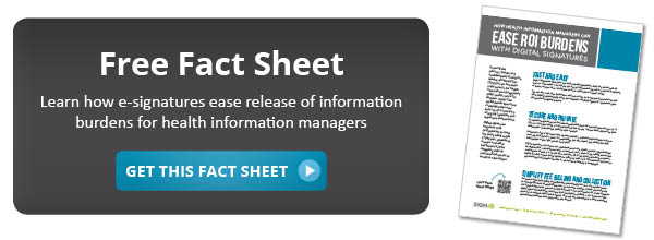 Get our fact sheet for health information managers