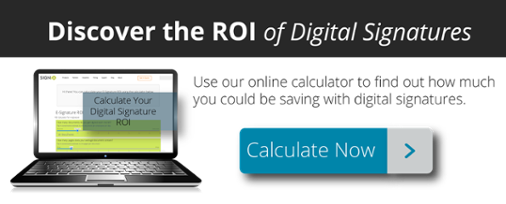 ROI of Digital Signatures Worksheet