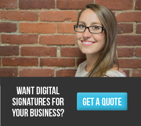digital signature price quote