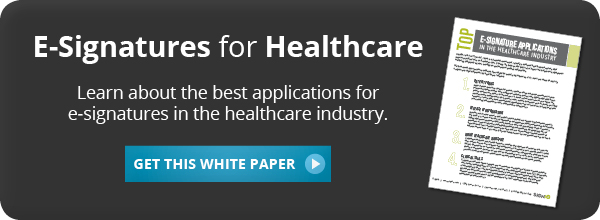 Download Our White Paper to Learn About E\u002DSignatures for Healthcare