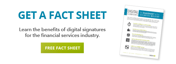 digital signatures for the securities industry fact sheet download