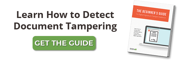 Learn How To Detect Document Tampering with this eBook