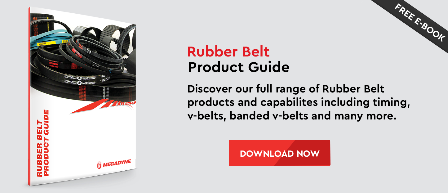Rubber Belt Product Guide - Discover all of our rubber belt products including timing, v-belts and banded v-belts