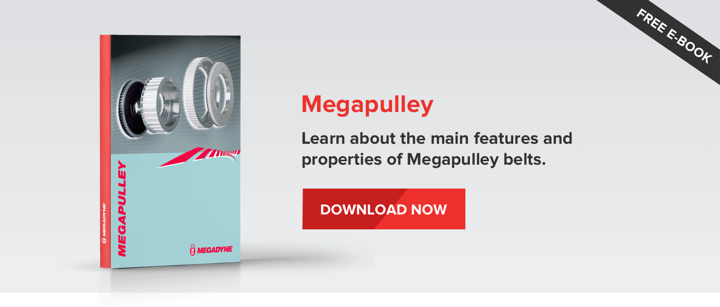 Megapulley - learn about the main features and properties of Megapulley belts.