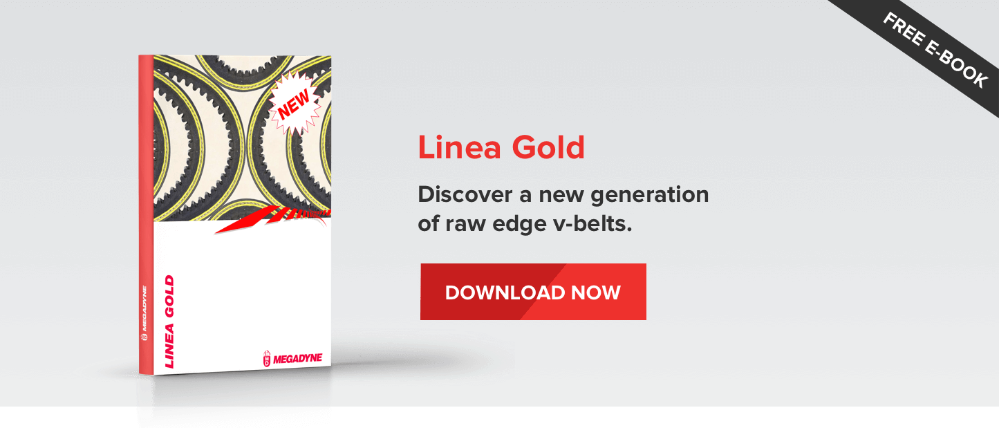 Linea Gold - Discover a new generation of raw edge v-belts