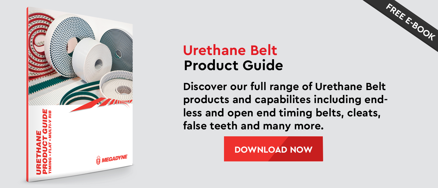 Urethane Product Guide - Discover all of our Urethane Belt products