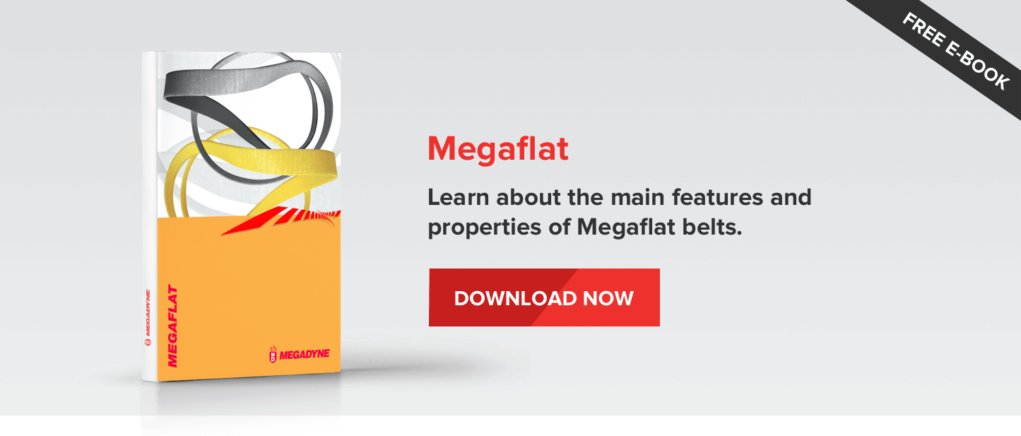 Megaflat - Learn about the main features and properties of Megaflat belts