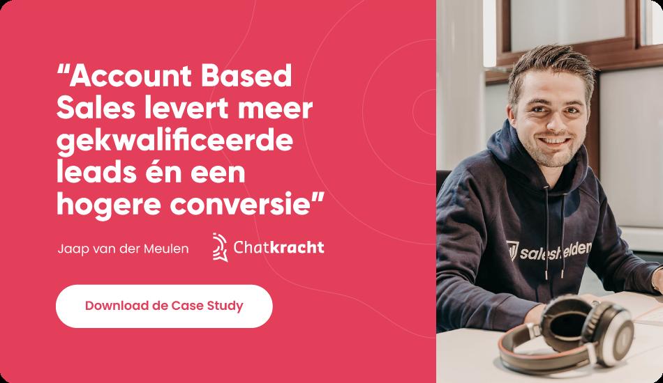 Meer gekwalificeerde leads én een hogere conversie met ABS - Case Study Chatkracht