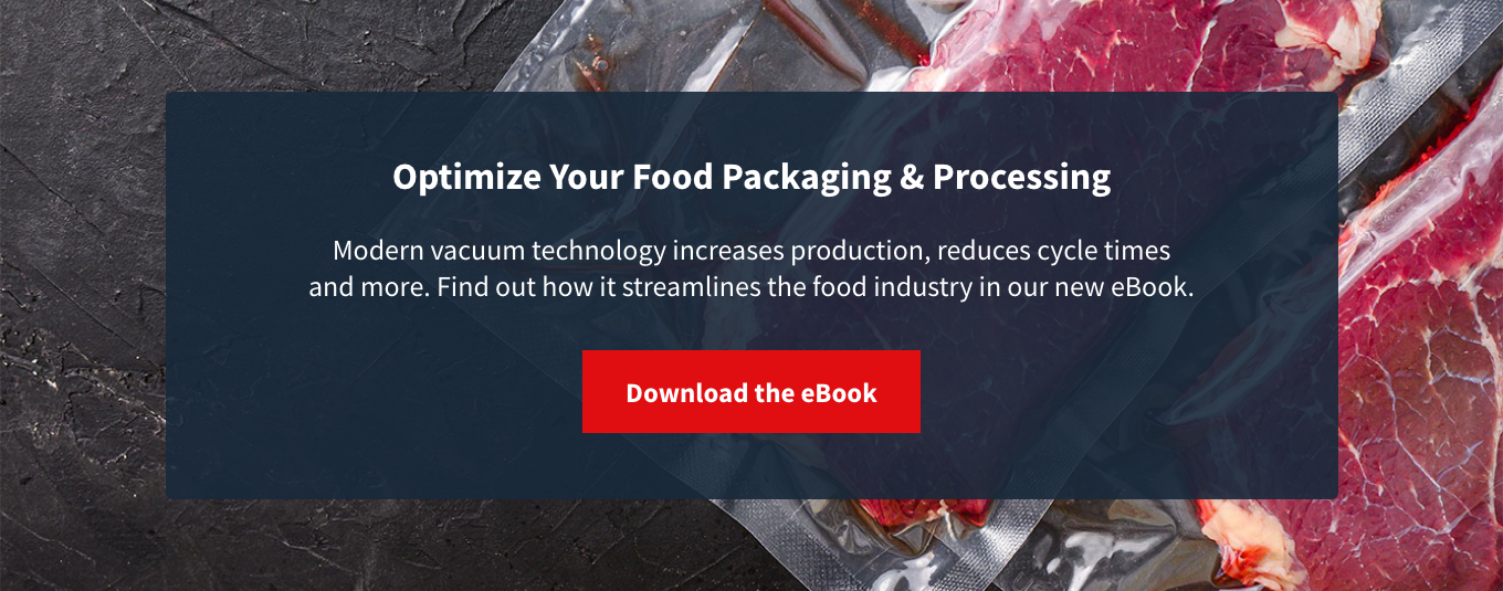 Optimise your vacuum food packaging and processing