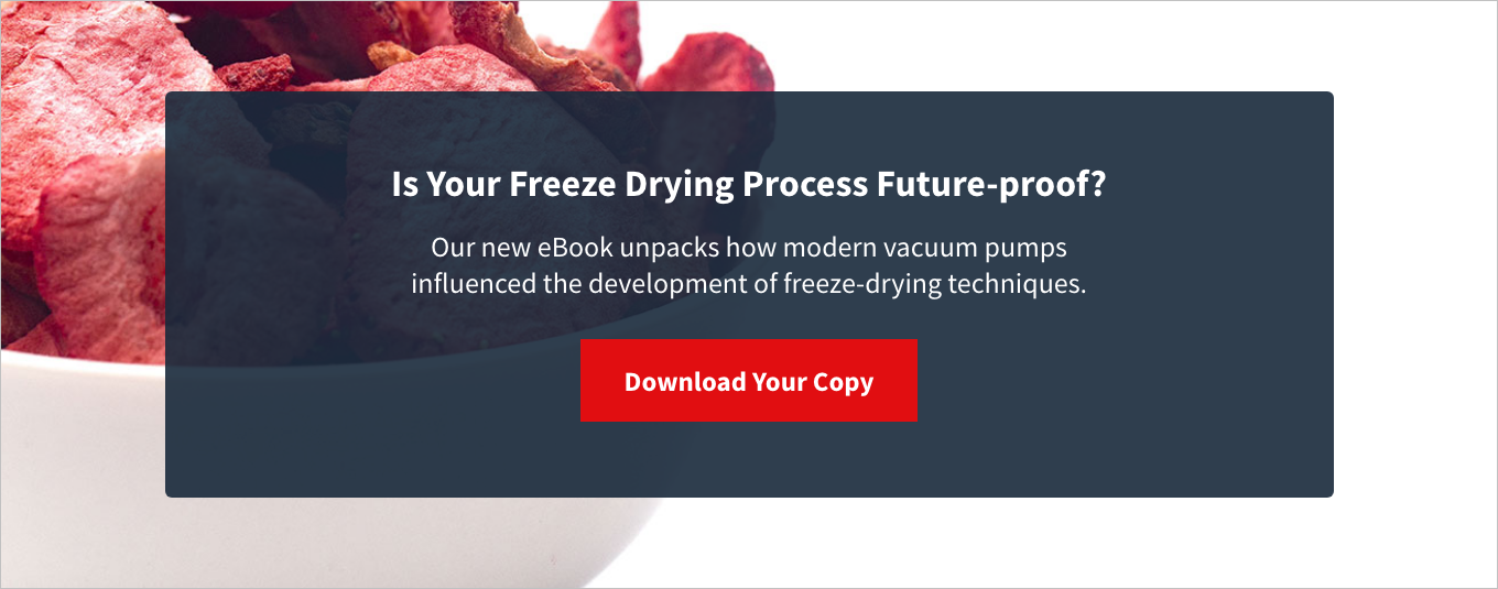 Is your freeze drying process future-proof?