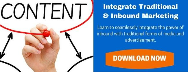 Get the Free Guide to Integrating Traditional & Inbound Marketing