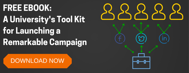University's Tool Kit for Launching a Remarkable Campaign