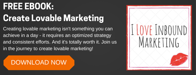 Create Lovable Marketing CTA