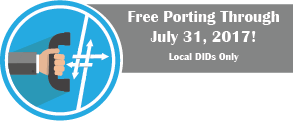 Free Porting at VoIP Innovations until July 31, 2017
