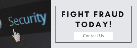 Fight fraud today Contact Us Button