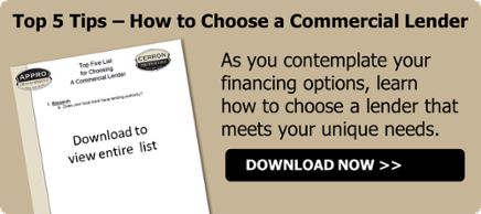 Top 5 tips how to choose a commercial lender