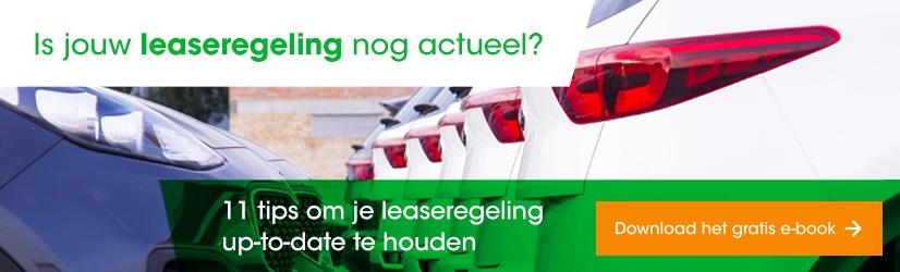 leaseregeling nog actueel, wagenparkbeheer