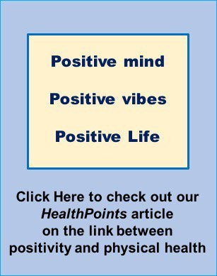 Positive Mind, Positive Vibes, Positive Life. HealthPoints link
