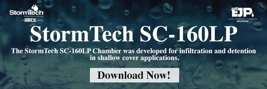 StormTech SC-160LP Chamber CTA