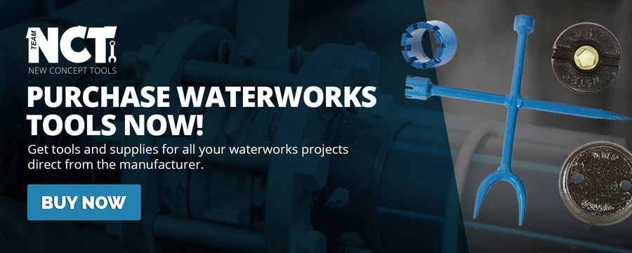 Purchase New Concept Tools Waterworks Tools Now!