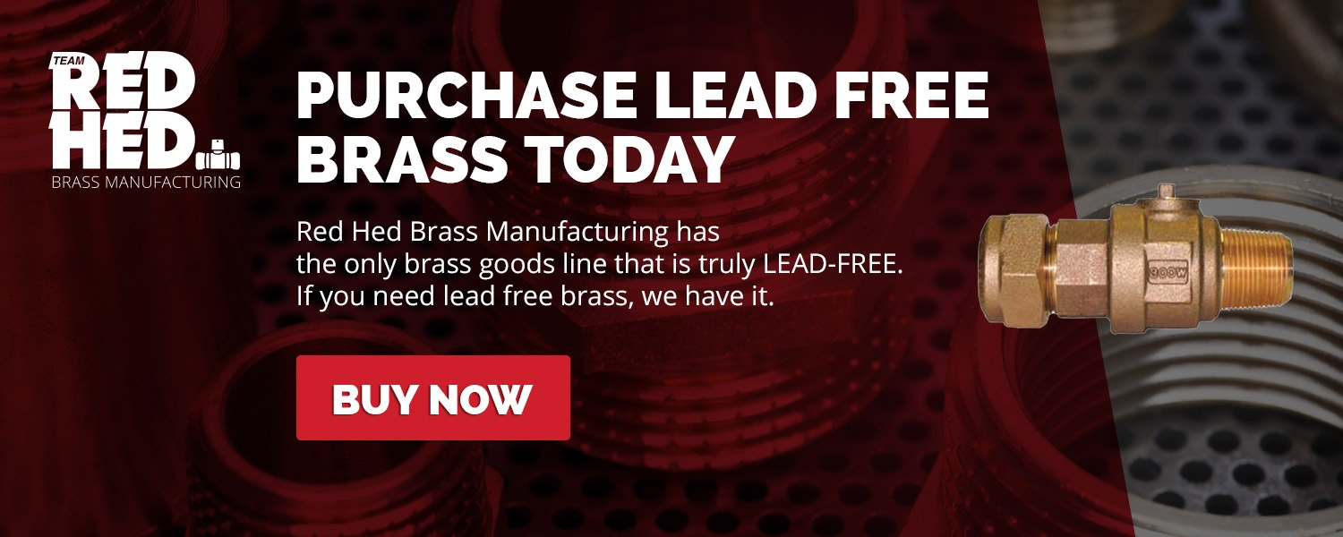 Red Hed brass manufacturing has lead free brass for sale!