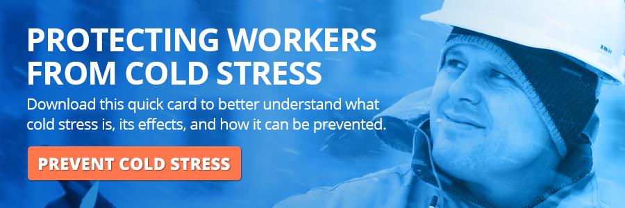 OSHA Cold Stress Quick Card CTA